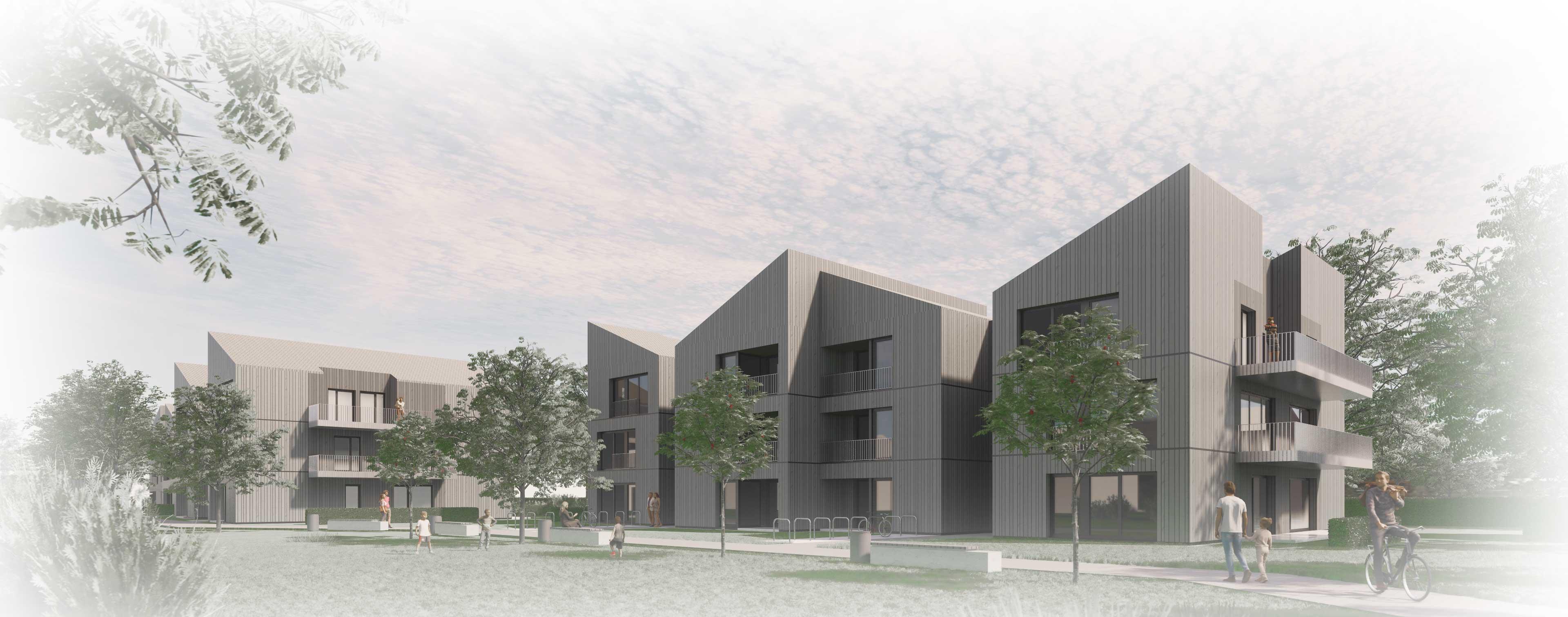Baugenehmigung Geförderter Wohnungsbau auf dem Schmucker-Areal, Utting am Ammersee