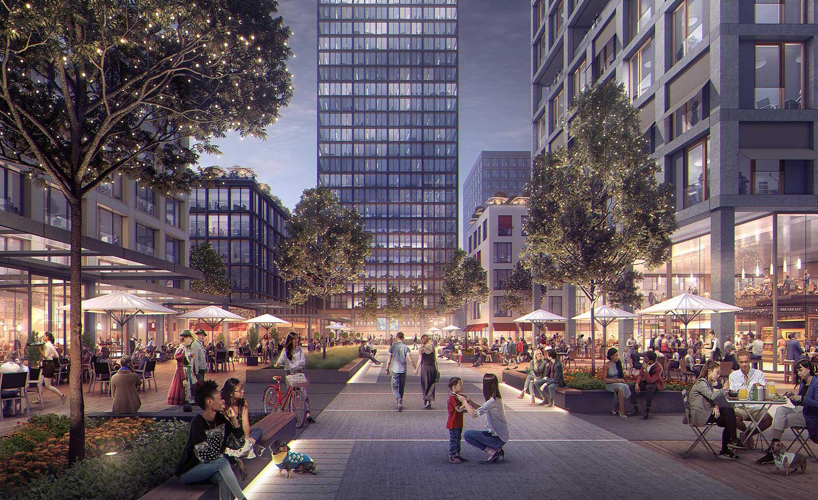 Zuschlag Wettbewerb für Konzept- und Projektentwicklung Quartier München