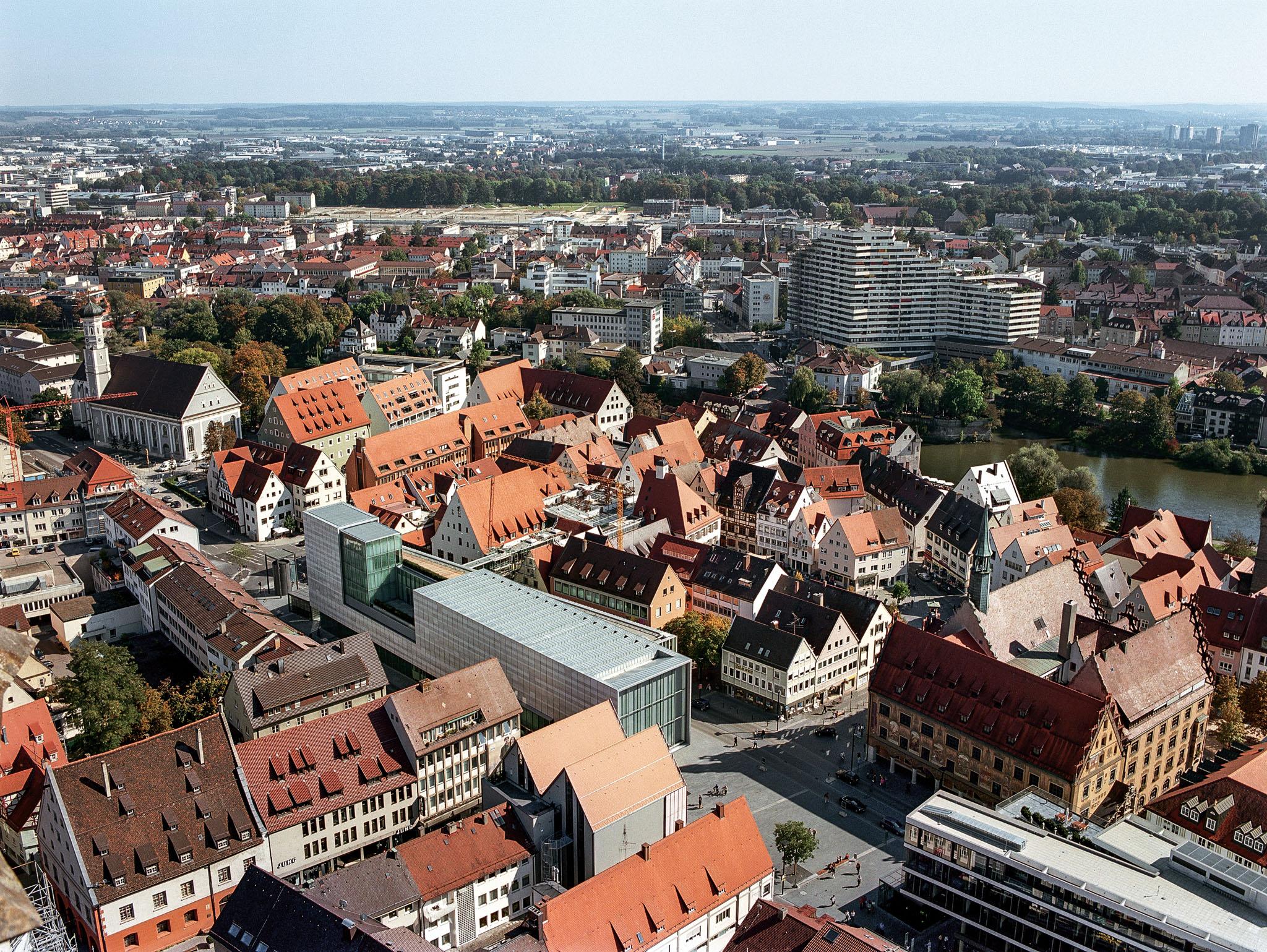 """Deutscher Städtebaupreis - DSP 2020 Sonderpreis """"Städtebau revisited"""" für Neue Mitte Ulm"""