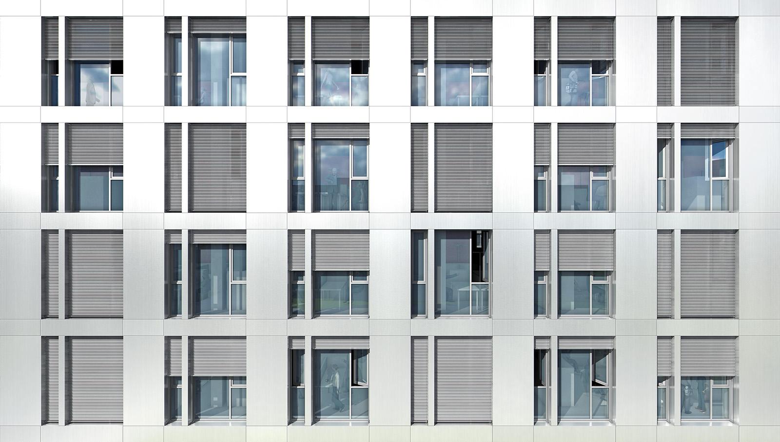 Baugenehmigung Löffelstraße 34 - 38 in Stuttgart-Degerloch