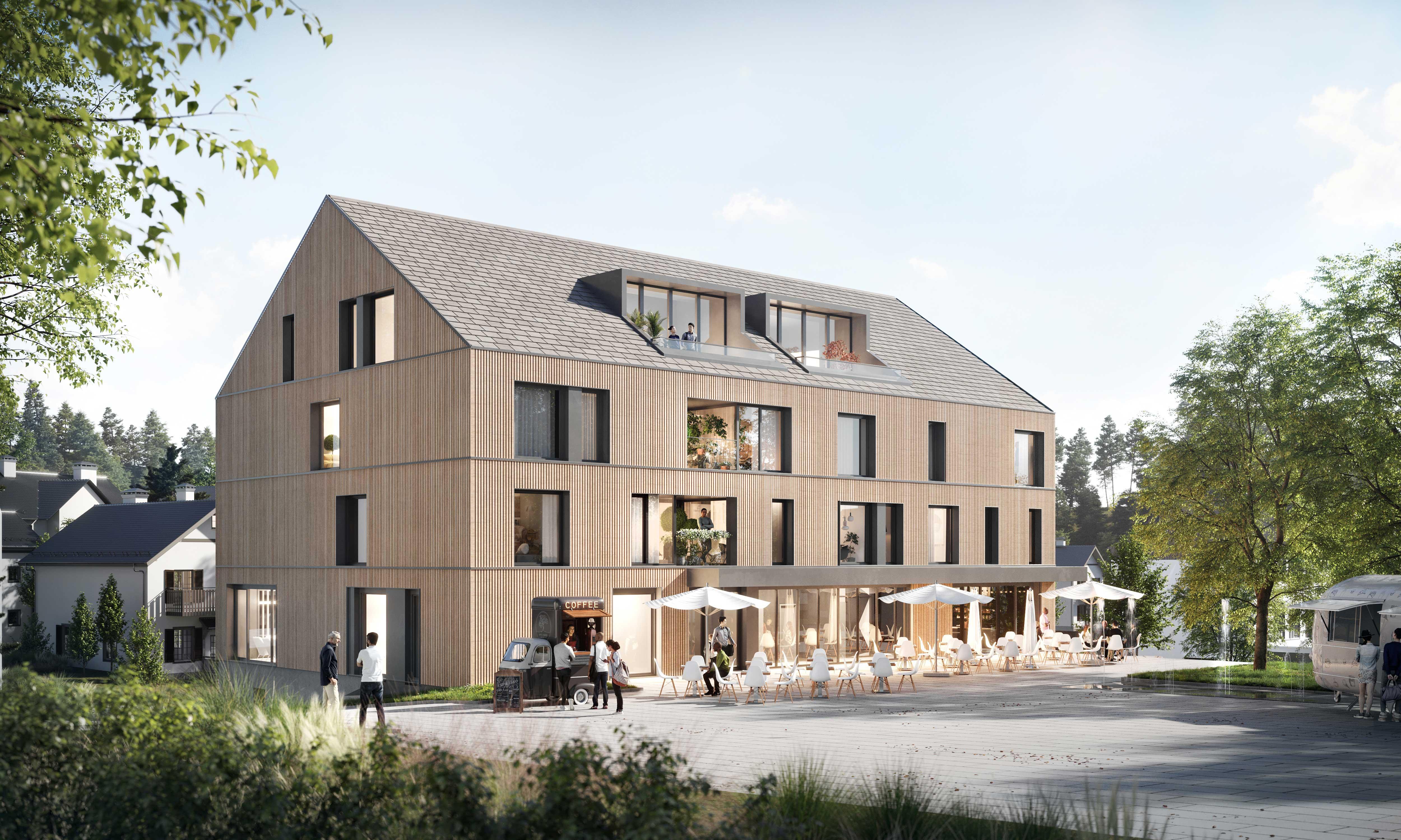 Neue Ortsmitte in Neukirch
