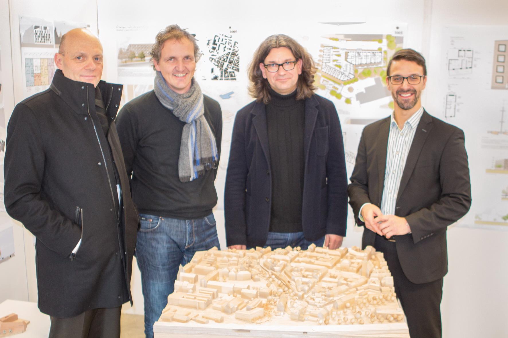 2. Preis bei eingeladenem Realisierungswettbewerb Wohnungsbau in der Jahnstraße/ Martinsbühler Straße in Erlangen