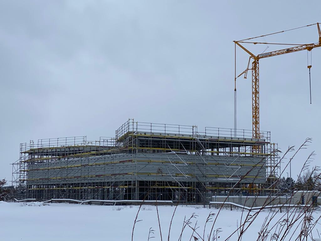 Rohbau Aurelis Real Estate Triebwerk - Baufeld 3b