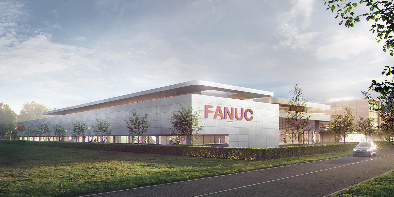 1. Preis Planungsgutachten Erweiterung Standort Neuhausen von FANUC