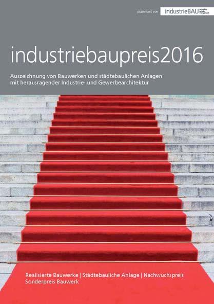 WWA in der Sonderausgabe zum industriebaupreis2016