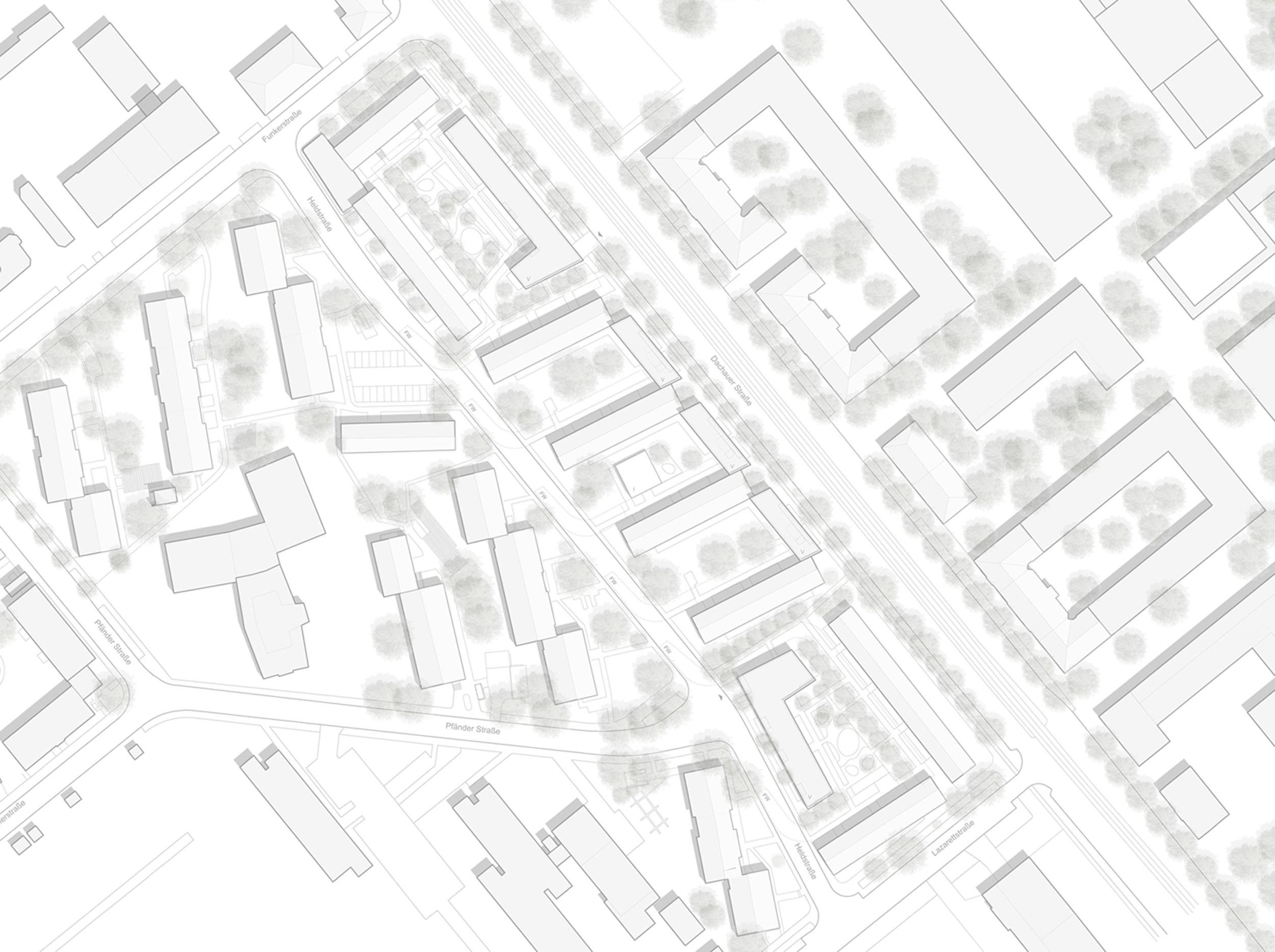 Wettbewerb Lärmschutz Dachauer Straße, 2. Preis 1