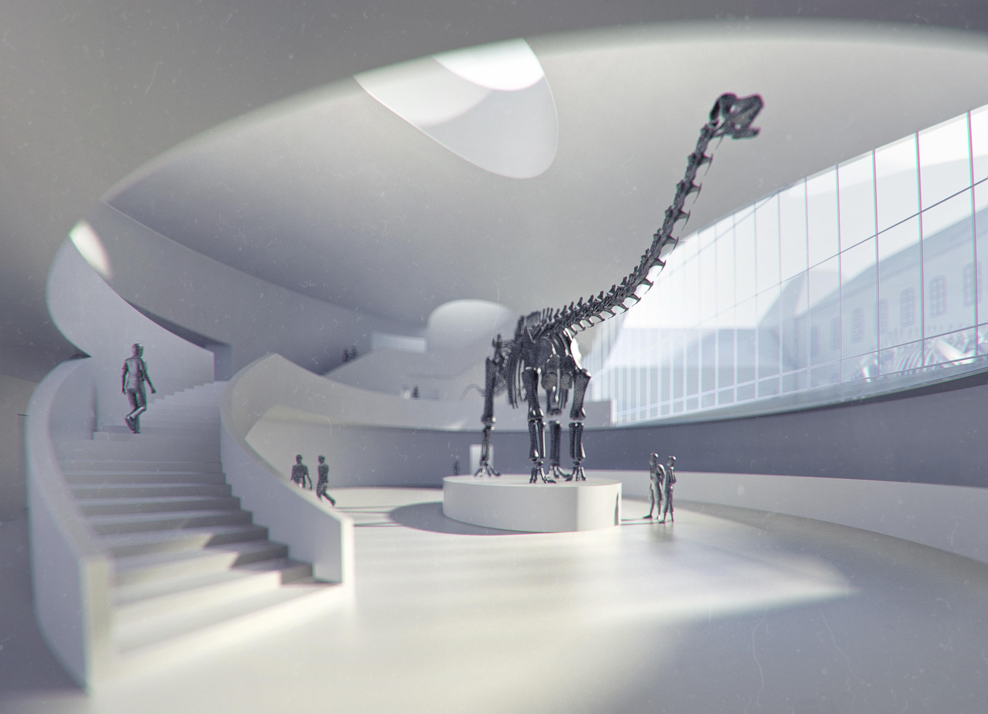 Wettbewerb Naturkundemuseum engere Wahl 1
